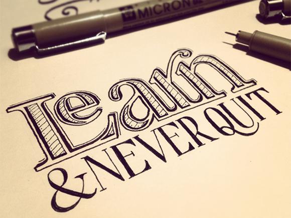 Tipografia lettering 02