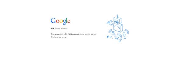 Des1gn ON 404_Google