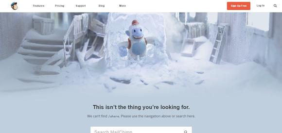 Des1gn ON 404_MailChimp