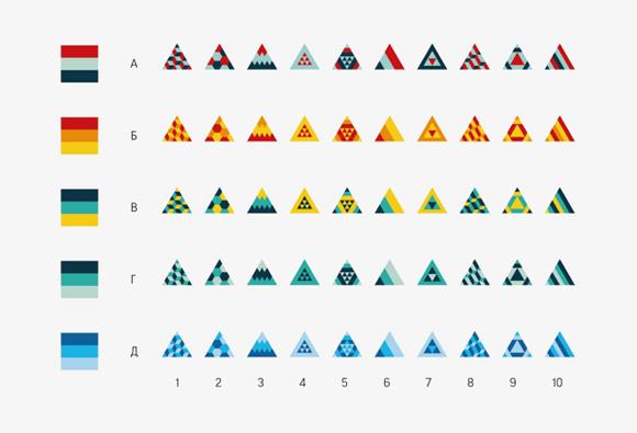 Des1gn ON Exemplos de Identidade Visual 2015