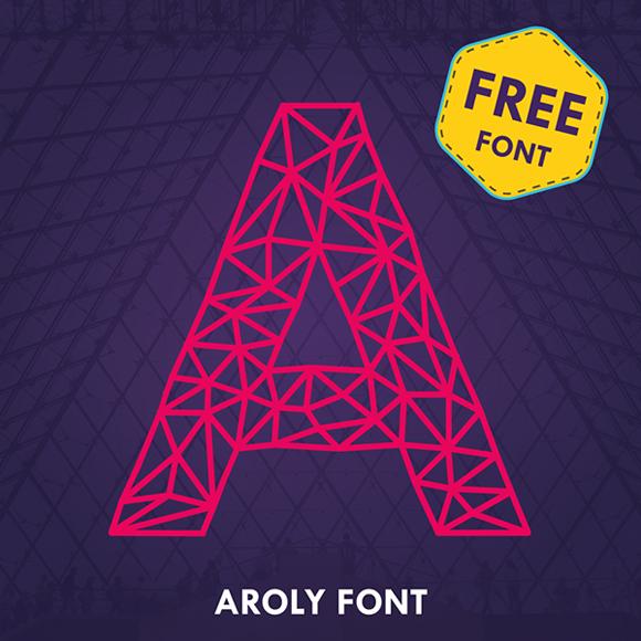 Des1gn ON Free Font Fonte Gratis 02 Aroly