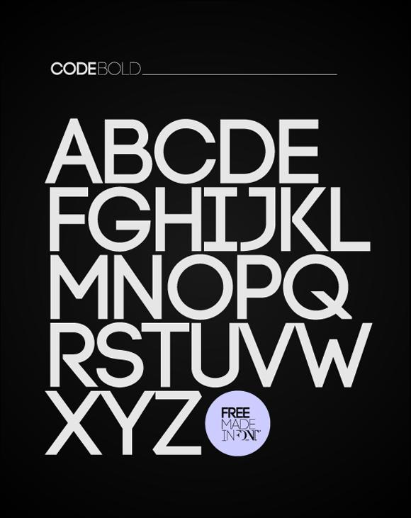 Des1gn ON Free Font Fonte Gratis 06 Code