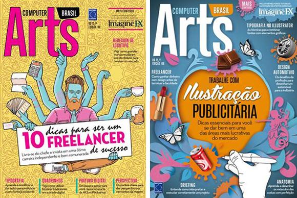 Des1gn ON - Revistas brasileiras de Design - Computer Arts