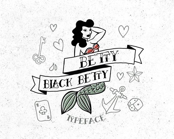 Des1gn ON - Fontes Novas Free Grátis 01 Betty