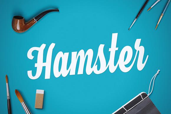 Des1gn ON - Fontes Novas Free Grátis 06 Hamster