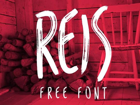 Des1gn ON | Font free Fonte gratis - Reis
