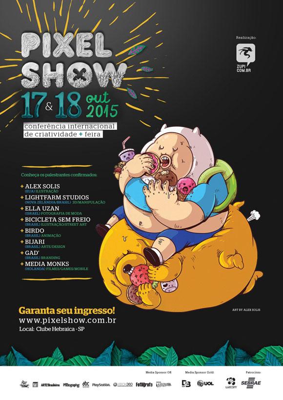 Des1gn ON - Pixel Show 2015 - banner1