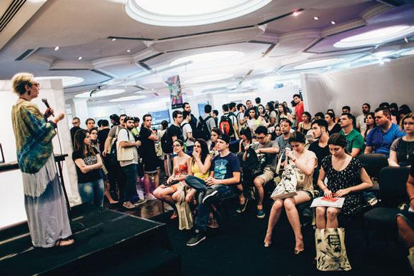 Des1gn ON - Pixel Show 2015 - sharp talk