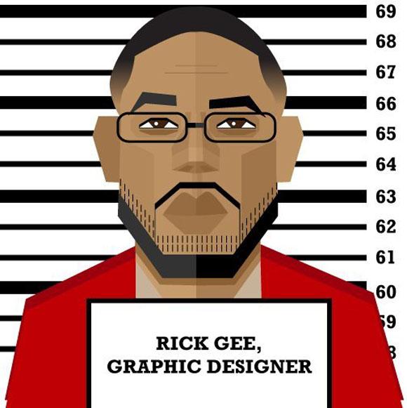 Des1gn ON Como criar seu autoretrato geometrico illustrator 44