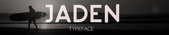Des1gn ON - Fontes San Serif - Free Font 06-Jaden