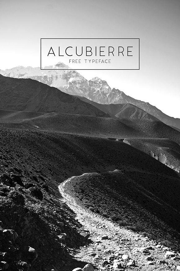Des1gn ON - Fontes San Serif - Free Font 10-Alcubierre