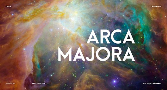 Des1gn ON - Fontes San Serif - Free Font 16-Arca Majora