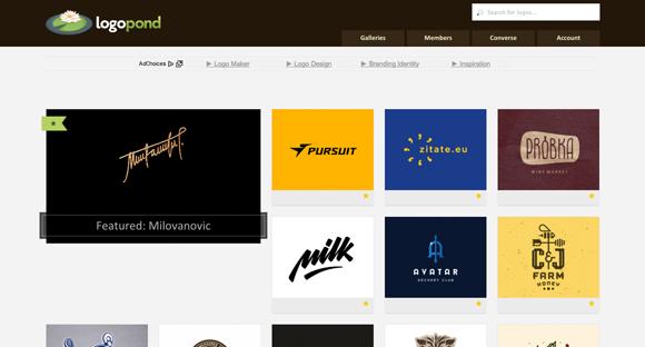 03 Galerias de Branding para Referência - Criação de Marca - Logopond