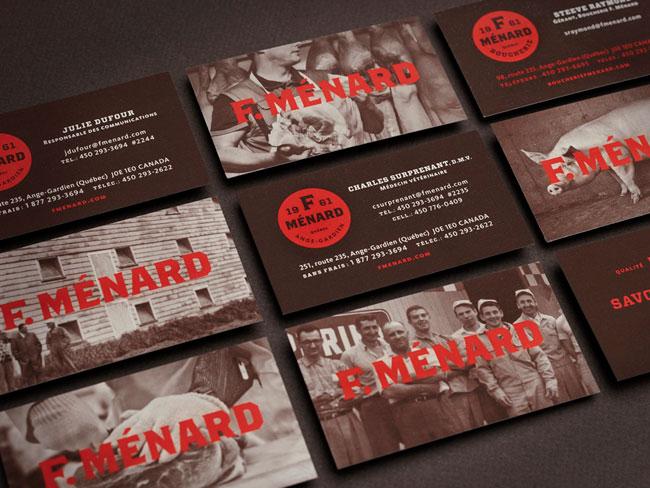 F. Menard Identidade visual