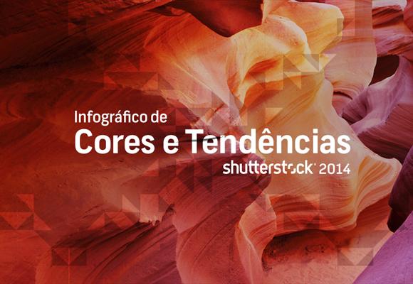 Infográfico: Tendências de cores 2014