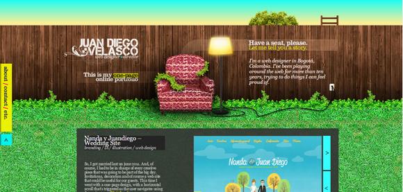 Des1gn ON | Portfolios digitais