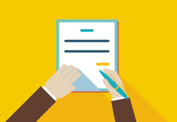 Des1gnON - Como fazer Contrato