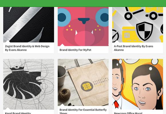 Galerias de Branding para Referência - Criação de Marca