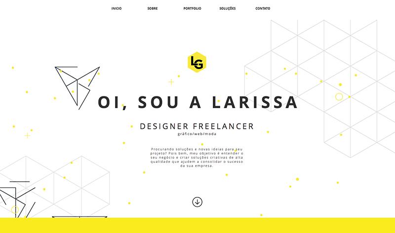 Des1gnon | Como fazer portfolio freelancer - Larissa Graboski