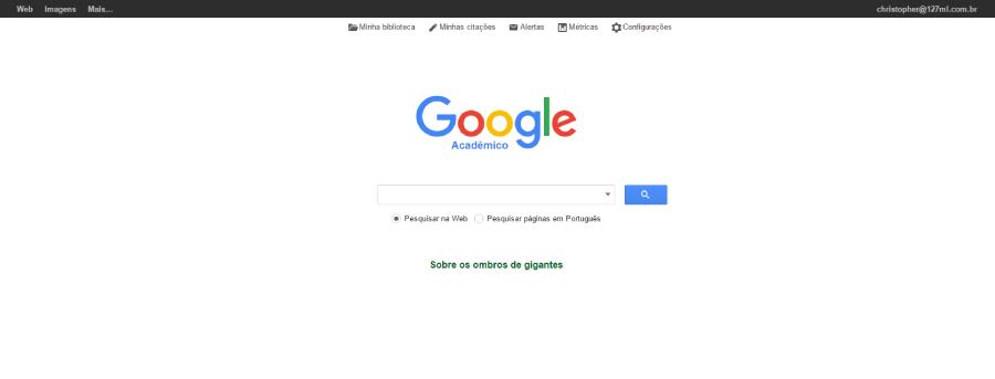 Des1gn ON | Pesquisa Acadêmica - onde pesquisar - Google Acadêmico