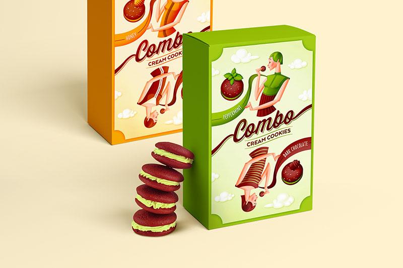 Des1gn ON | Design de Embalagem - Combo 01
