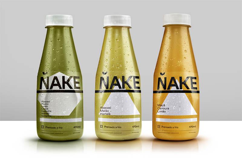 Des1gn ON | Design de Embalagem - Nake