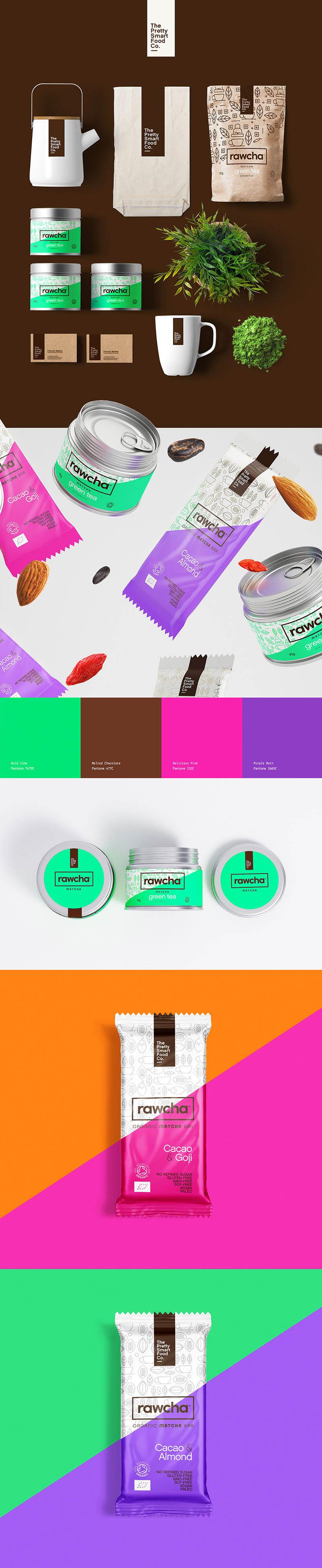 Des1gn ON | Design de Embalagem - Rawcha
