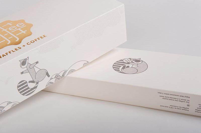 Des1gn ON | Design de Embalagem - Waffee 01