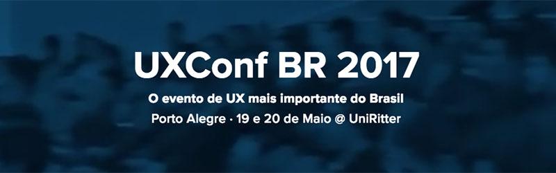 Des1gnON - Eventos de Design em 2017 - UXConfBR