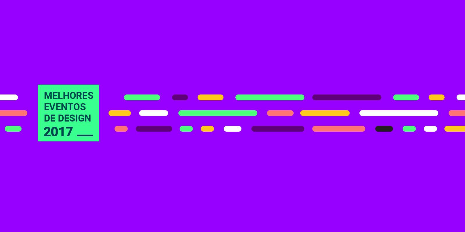 Des1gnON - Eventos de Design em 2017
