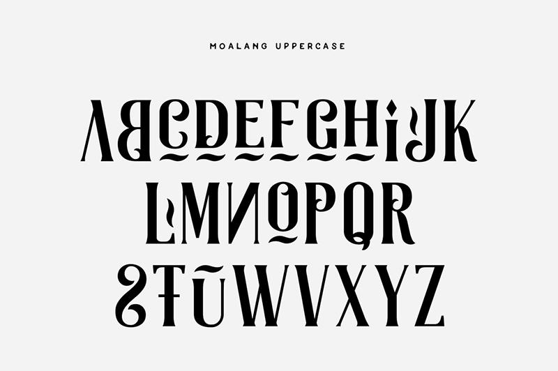 Des1gnON - 11 Fontes Serif FREE para se apaixonar - Moalang