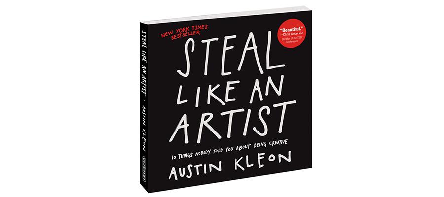 Des1gn ON - 5 Razões para ter um Diário Criativo - Livro Steal Like an Artist