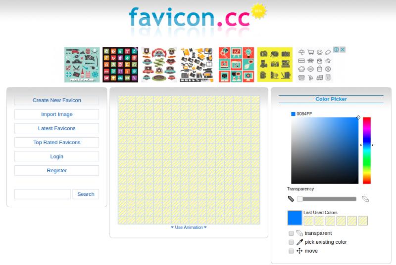 Des1gnON - 10 Sites para Criar um Favicon - Faviconcc