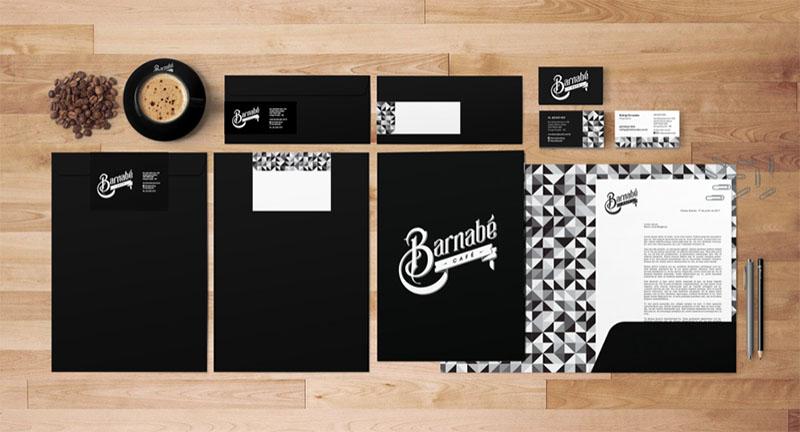 Des1gnON - Projetos de Marca de Designers Brasileiros - Barnabe Cafe 03
