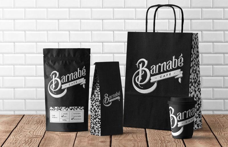 Des1gnON - Projetos de Marca de Designers Brasileiros - Barnabe Cafe 05