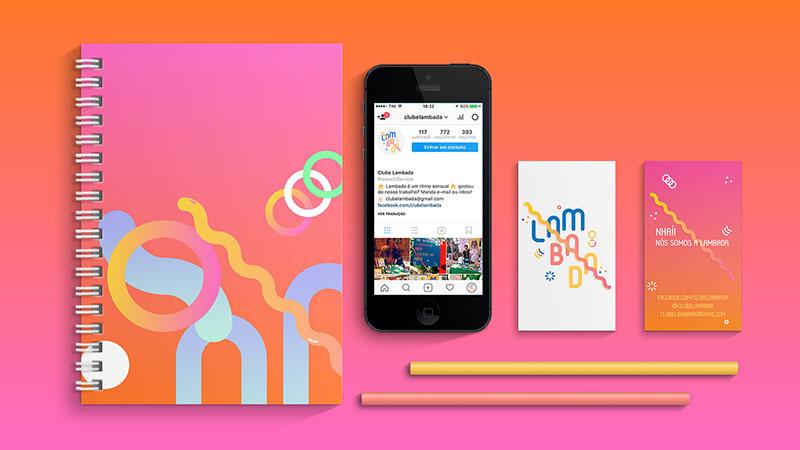 Des1gnON - Projetos de Marca de Designers Brasileiros - Lambada 02