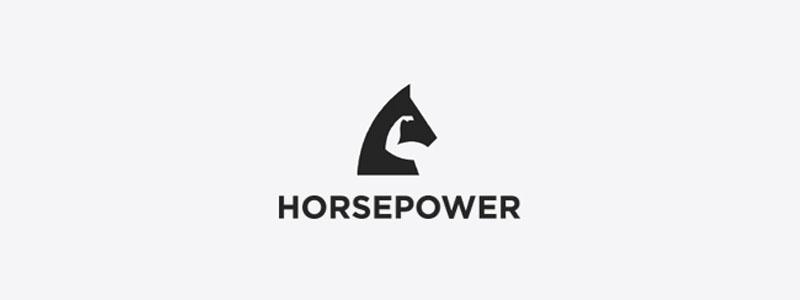 Des1gn ON - Como criar Logos com Espaço Negativo - Horsepower