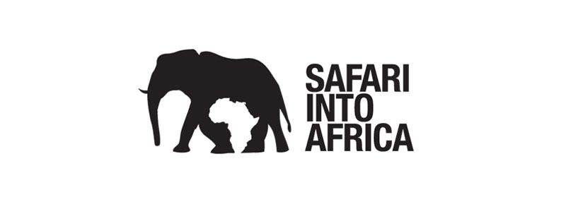 Des1gn ON - Como criar Logos com Espaço Negativo - Safari into Africa