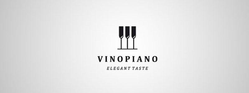 Des1gn ON - Como criar Logos com Espaço Negativo - Vinopiano