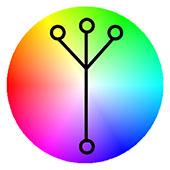 Des1gn ON - Como usar Contraste de Cor - Esquema Analogo mais Complementar