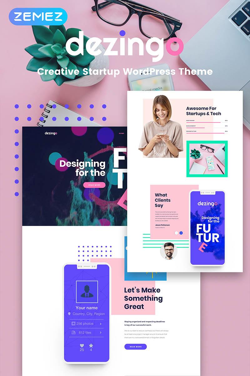 Des1gnON - Tema WordPress para Portfolio