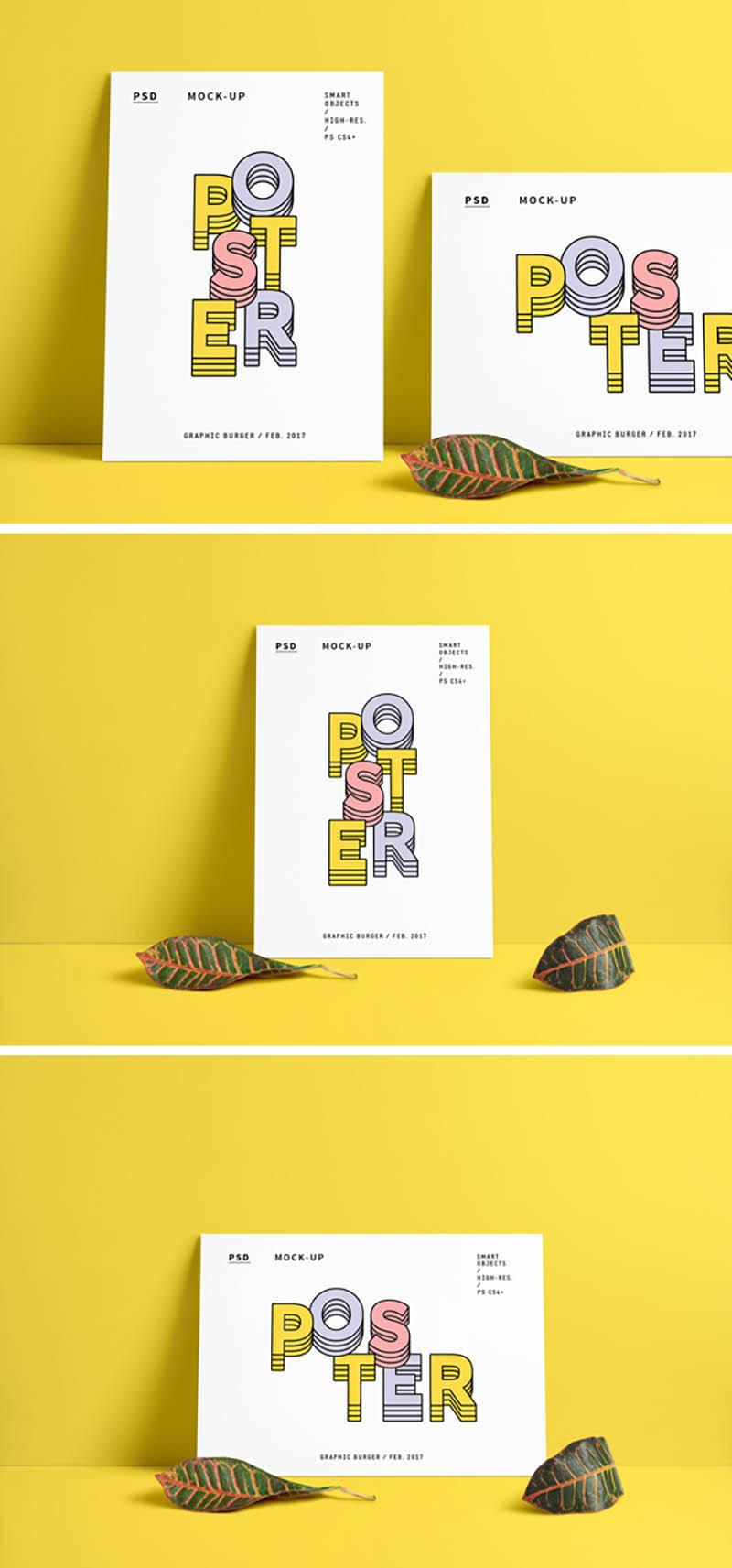 Des1gnON | Recursos GRÁTIS para Designers - 10 Mockups Fantásticos