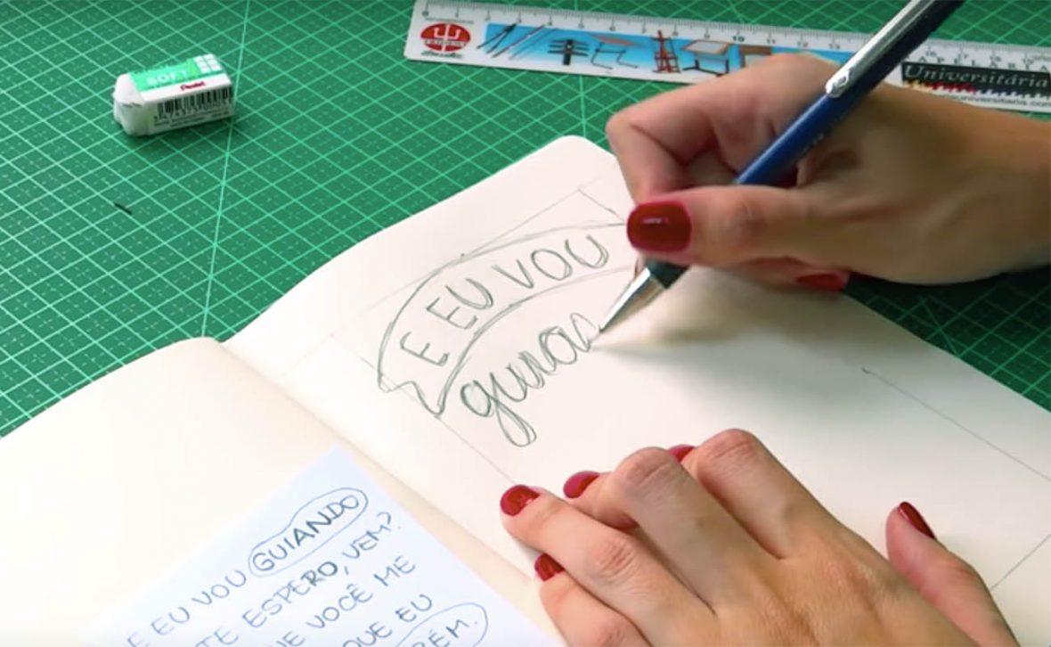 Des1gnON | 5 Melhores Tutoriais de Como Criar Lettering ou Caligrafia - Iniciantes e Intermediarios