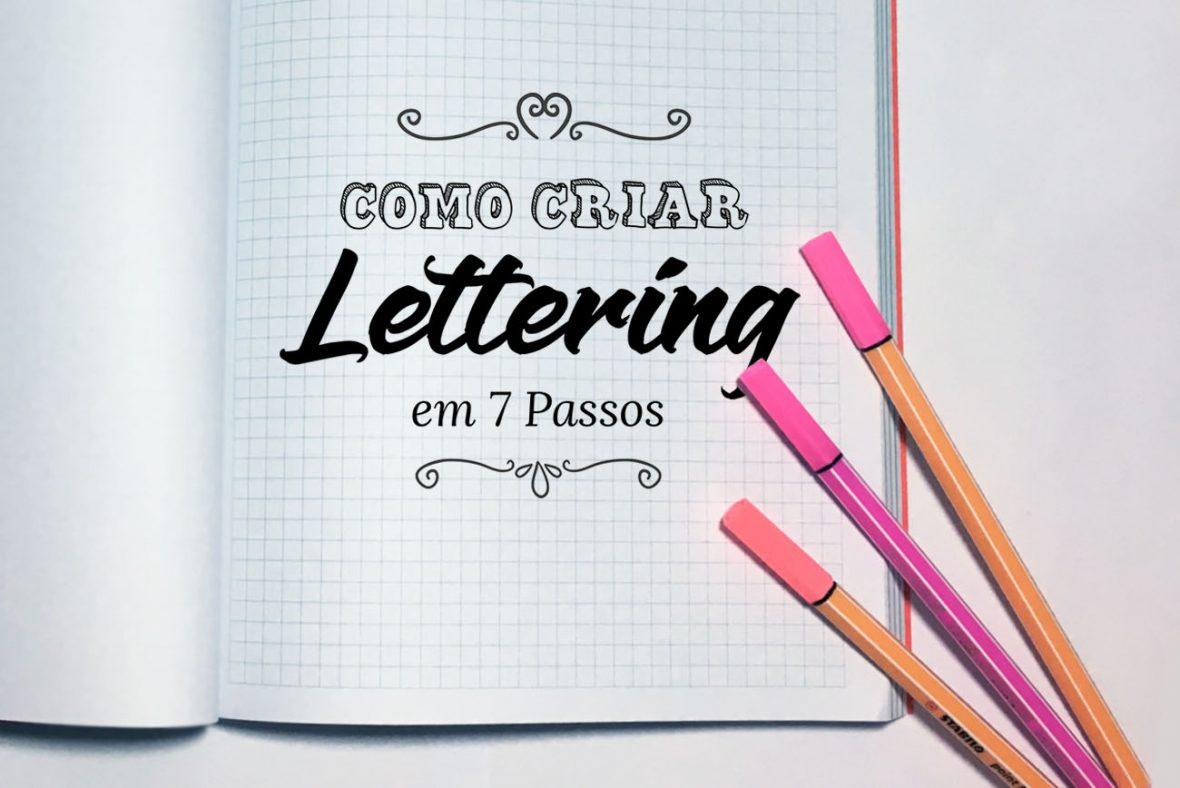 Aprenda: Como Criar Lettering em 7 Passos Praticos - Des1gnON
